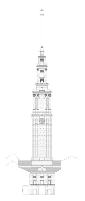 Alzado torre