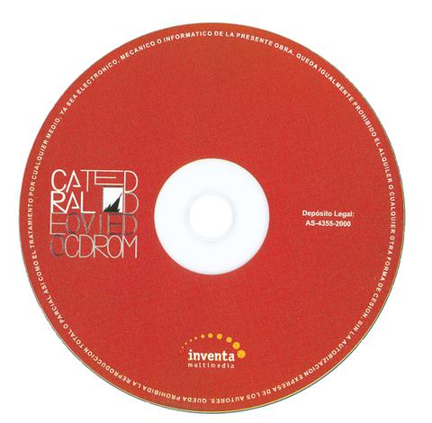 Cuenca Hevia - LA CATEDRAL DE OVIEDO CD-ROM MULTIMEDIA - Arquitectos Cosme Cuenca Y Jorge Hevia S.L.P.