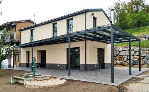 Cuenca Hevia - REFORMA Y AMPLIACIÓN DE VIVIENDA UNIFAMILIAR EN LA ZURRAQUERA, GRADO - Arquitectos Cosme Cuenca Y Jorge Hevia S.L.P.