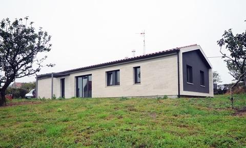 Cuenca Hevia - VIVIENDA UNIFAMILIAR AISLADA Y EDIFICIO AUXILIAR EN ARGÜERO, VILLAVICIOSA - Arquitectos Cosme Cuenca Y Jorge Hevia S.L.P.